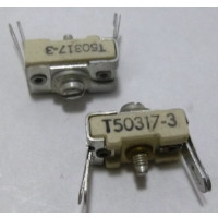 T50317-3  Trimmer, Compression Mica, 8-50 pf (Cross to 403)