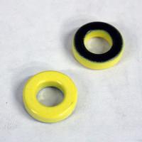 T68-6 Ferrite core, #6 Material, Micrometals