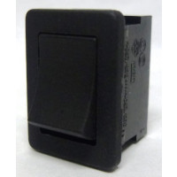 T881  Rocker Switch, SPST, 6a 250vac (Plain-no lettering)