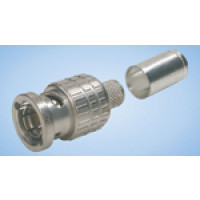TC240BM-75 BNC Male Crimp Connector, 75 ohm, Times