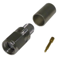 TC240SM Connector, sma(m) crimp, Straight, Cable Group: X, Times