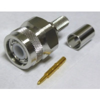 TC240TM-X TNC Male Crimp Connector, Cable Group: X, Times