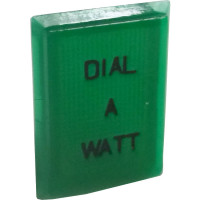TEXLENSGR-DIAL/WATT - Replacement Plastic Lens Cover Dial A Watt, Texas Star