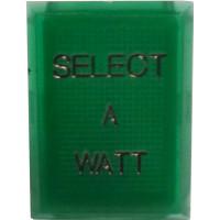 TEXLENSGR.SEL/WATT Replacement Plastic Lens Cover, Select A Watt, Texas Star