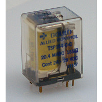 TSP154-C-C Relay, DPDT, Relay, Terminal Type, 29vdc, 2a, Gould