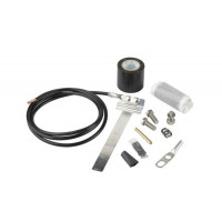 """UG12158-15B4-T  Universal Grounding Kit for 1/2"""" - 1-5/8"""" Corrugated Coax Cable"""