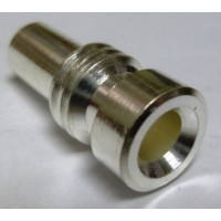 UG175/U-S Reducer Adapter, Use w/PL259 Silver Plated for RG58 or LMR195