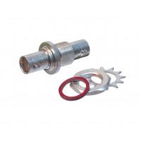 UG492D/U BNC In Series Adapter, Female to Female Bulkhead (Industrial), Amphenol