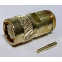 UG573B/U  Type-C Male Clamp Connector, RG8, RG213, RG393, Cable Group: E. Star