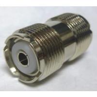 "RFP536 IN Series Adapter, UHF Female to UHF Female Barrel, 1.25"" Long"