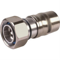 UXP-DM-12  7/16 DIN Male Connector, LDF4-50A / LCF12-50, PPC