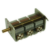 X764 Capacitor,Variable 3 section, 15-470 pf