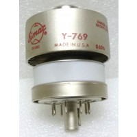 Y-769 / 4CX350F / 8322, NSN 5960-01-264-2087 Eimac Transmitting Tube, Ceramic / Metal Tetrode