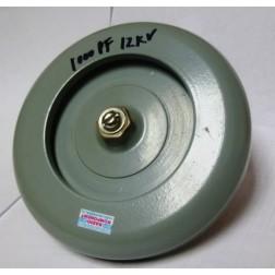 1000-12 Doorknob, 1000pf 12kv, Radio Komponent
