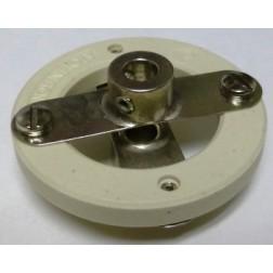 "104-0262-001  Ceramic Shaft Coupler, Heavy Duty, 1/4"", EF Johnson"