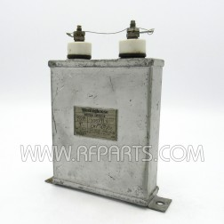 1087313 Westinghouse Type CAY48906 Oil-filled Capacitor 3mfd 2kvdc (Pull)