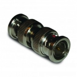 112448  In-Series Adapter, BNC Male to Male, 75 ohm, Straight, Barrel, Amphenol