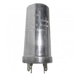 11607531  Twist Lock Capacitor, 100-100 uf 350 vdc, STM