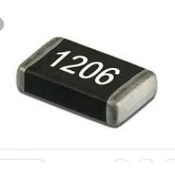 SMD1206-750 Capacitor, chip 750pf