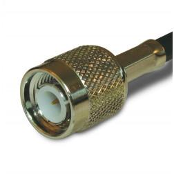 RFP7405-58 TNC Male Crimp Connector, Cable Group C, RFP