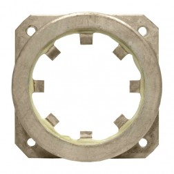 124-113-16-P  Bypass Cap Ring / Square Flange for 4CX250B