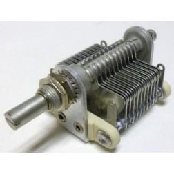 149-7-1 Air Variable Capacitor, 10-150pf, 21 plates, 1200v, Johnson
