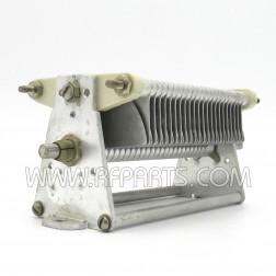 154-3-1  Air Variable Capacitor, 19-488 pf, 45 plates, 2kv, Cardwell (PULL)