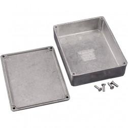 1590BB Diecast Box Enclosure, 4.67 L x 3.68 W x 1.18 H, Hammond