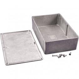 1590D Diecast Box Enclosure, 7.38 L x 4.7 W x 2.05 H, Hammond
