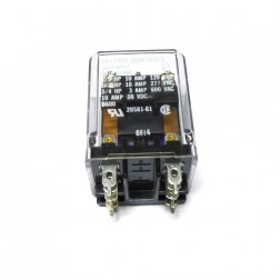 Relay, DPDT, 12vdc 10 amp, Enclosed, Deltrol (166P)