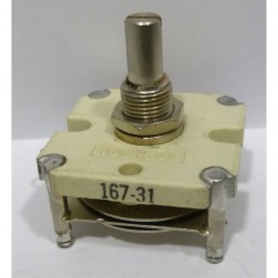 167-31-1 Variable Capacitor, Panel Mount, 2.8-11 pf, E.F. Johnson