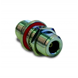 172124 Amphenol IN Series Adapter Type-N Female to N Female Straight Bulkhead