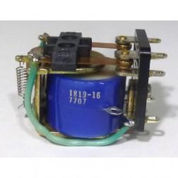 1819-16 Open Frame Relay, DPDT, 12v DC, Deltrol
