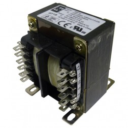 185F10 Transformer, Dual pri 115/230 vac 50-60hzDual sec 10vct@13a/5v@26a, Hammond