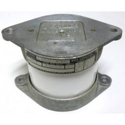 1960-432-.001/10kv Transmitting Mica Capacitor, .001uf 10kv, 12 amps, Aerovox