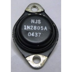 1N2805A  Diode, Zener 50 Watt 7.5v  TO-3 Case