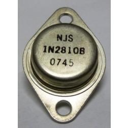 1N2810B  Diode, Zener 50 Watt 12v  TO-3 Case