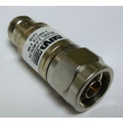 2-A-MFN-6-1 Attenuator, Type-N, 2 Watt, 6dB, DC-4 GHz, Bird (Clean Used)