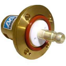 """201-058-2  Between Series Adapter,  1-5/8"""" EIA Flange to 7/16 DIN Male, MYAT"""
