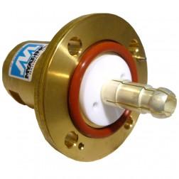 "201-058-1  Between Series Adapter,1-5/8"" EIA Flange to 7/16 DIN Female, MYAT"