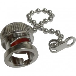 31-6-RFX  BNC Male Cap with Chain, Amphenol
