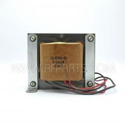 25-0300-01 Pride Transformer, HV Plate, for DX300/KW1