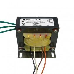 265X5  Transformer 150va 5.0 vac ct @ 30 amps 117/234 VAC dual primary  Hammond