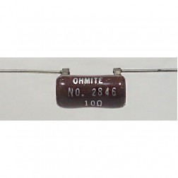 B8J10R  Wirewound Resistor, 10 ohm 5 watt, Ohmite