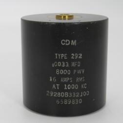 29280B332J00, Capacitance .0056mfd, Voltage 13kv, Amps 20