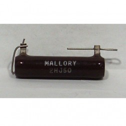 2HJ50 Wirewound Resistor, 50 ohms 20 watts. Mallory
