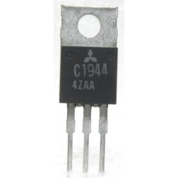 2SC1944 NPN Epitaxial Planar Transistor, 27 MHz, 12 V, 13 W, Mitsubishi