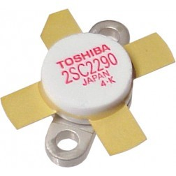 2SC2290 Transistors, Matched Set of 4, Toshiba (Early Version)