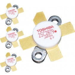 "2SC2879A TOSHIBA Transistor  Matched Quad (4) ""Red Dot"" Pb Free RoHS Compliant (NOS)"