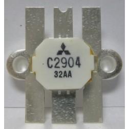 2SC2904 NPN Epitaxial Planar Transistor, 30 MHz, 12.5 V, 100 W, Mitsubishi